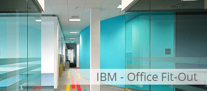 Ibm office fit out project castlerock for Office fit out