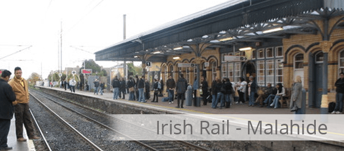 Irish Rail Banner